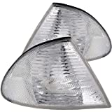 Anzo USA 521006 BMW Clear W/Amber Reflectors Cornering Light Assembly - (Sold in Pairs)