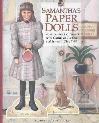 Samantha's Paper Dolls     **ISBN: 9781584857013** by American Girl (Image #1)