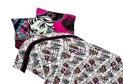 Mattel Monster High Right to Fright Sheet Set, Full