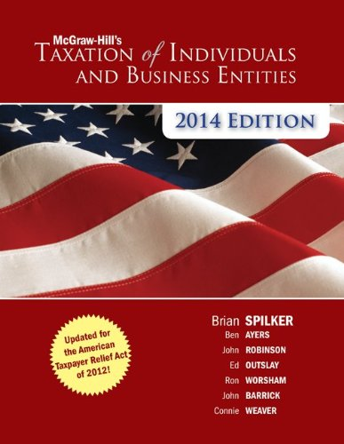 McGraw-Hill's Taxation of Individuals and Business Entities 2014 Edition with Connect Plus