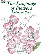 The Language of Flowers Coloring Book
