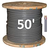 Southwire 8/3 UF-B (50' Direct Burial Electrical Cable)