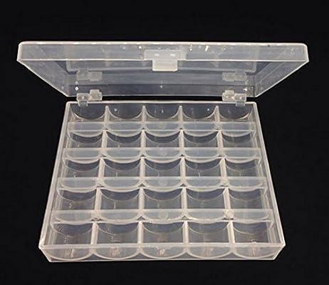 Caja para Bolillos Bobinas Canillas Vacías para Máquina de Coser ...