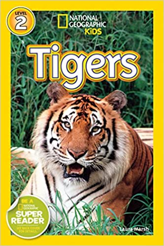 National Geographic Kids Readers Tigers National Geographic Kids