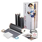 Living Heat 2.5m2 Underfloor Heating Kit For Under Laminate, Wood & Carpet Floor