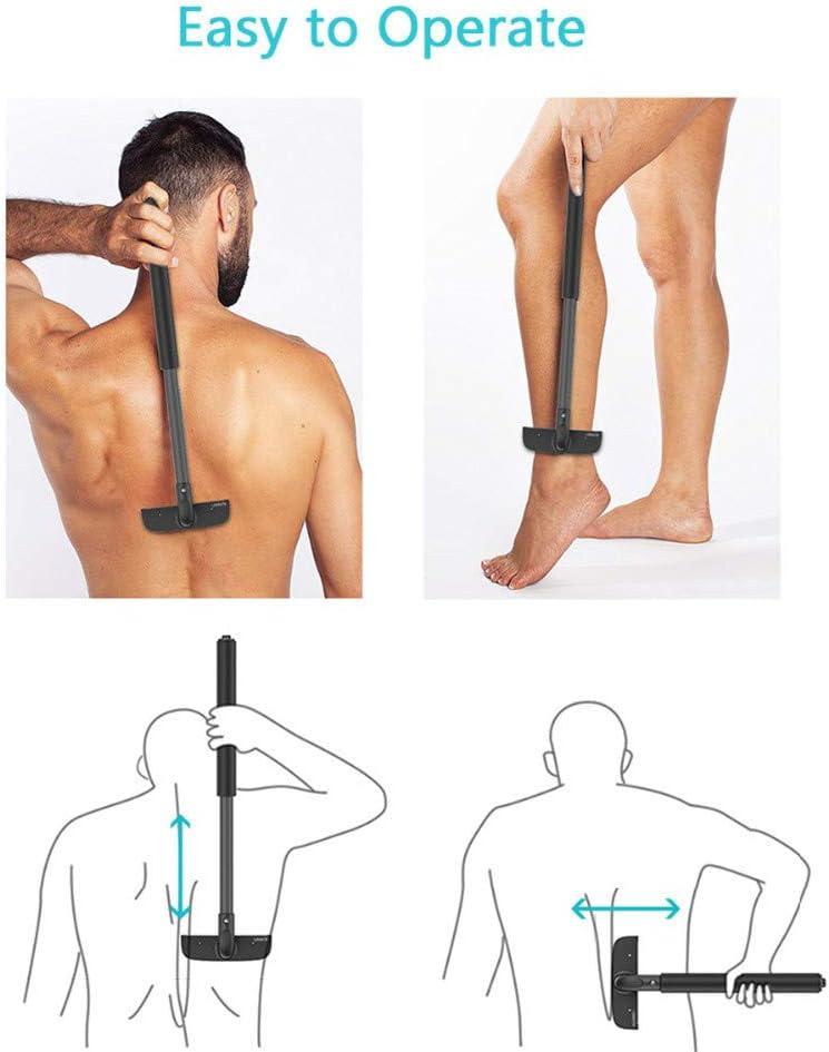Manual Estiramiento Los Hombres Pierna Del Cuerpo Espalda Pelo ...