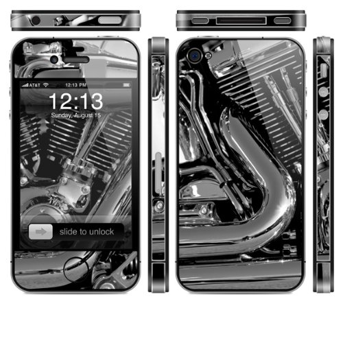 Skin für Apple iPhone 4s - Motor Bike