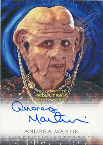 Star Trek DS9 Heroes & Villains Autograph Card Andrea Martin as Ishka