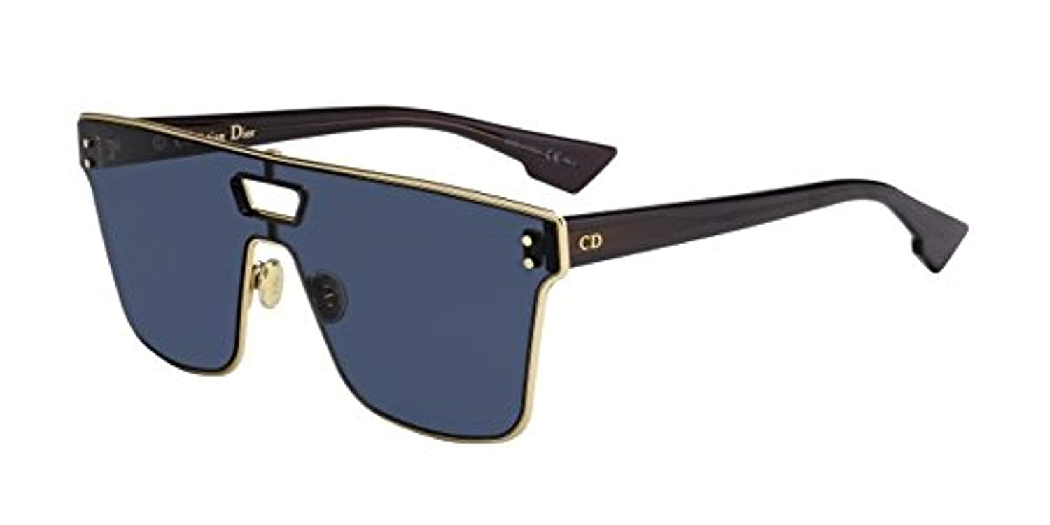 3c44688c09cf Amazon.com  Dior DIORIZON 1 Gold Burgundy Blue 99 1 145 Women Sunglasses   Clothing