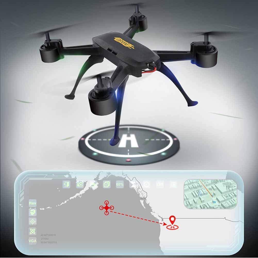 L@LILI Cámara FPV Drone 720P HD Regreso de Video en Vivo con GPS ...