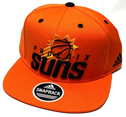 Phoenix Suns Adidas PHX NBA Team Preferred New Logo Orange Snapback Era Hat - Hat Phx Suns