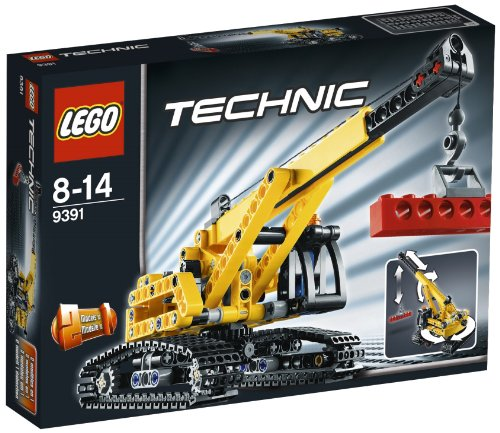 Lego Technic 9391 - Tracked Crane