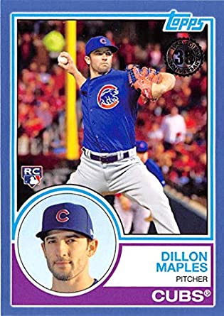 2018 Topps 1983 Topps Rookies #83-22 Dillon Maples Chicago Cubs Baseball Card