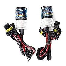Xenon HID bulbs - SODIAL(R) 2x XENON HID REPLACEMENT BULBS LAMP 9006/HB4 35W 6000K