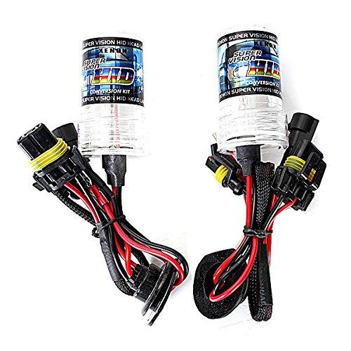 SODIAL R ampoules Xenon HID 2x XENON HID AMPOULES LAMPE DE RECHANGE H1 55W 6000K