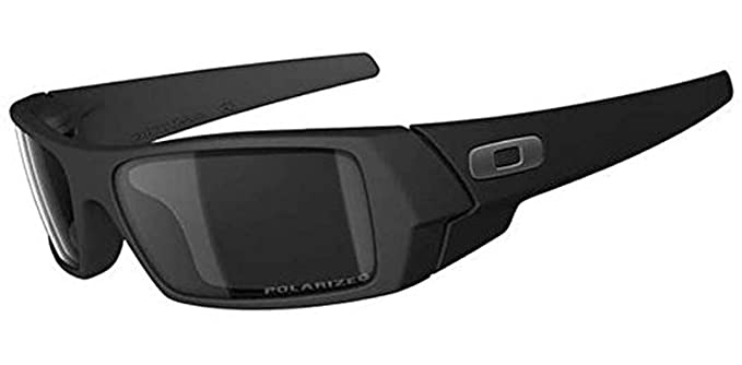 oakley gascan sunglasses accessories  oakley gascan sunglasses matte black / black iridium polarized & carekit bundle