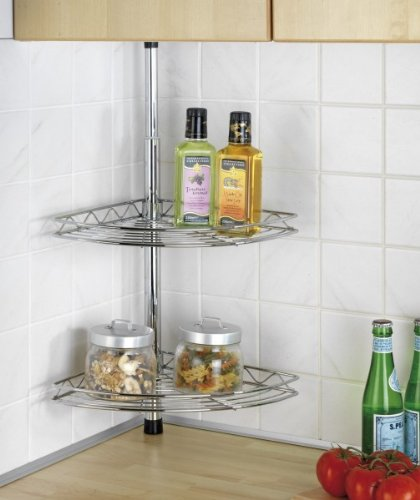 wenko teleskopregal basic - küchenregal - regal für küche ... - Eckregale Küche