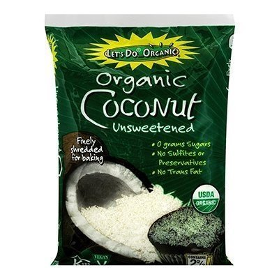 LETS DO ORGANICS COCONUT SHRED UNSWTN ORG, 8 OZ by Lets Do Organics (Image #1)