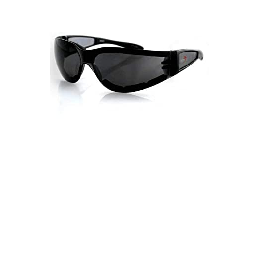 546c3ff56e3 Amazon.com  Bobster Shield II Sunglasses (BLACK SMOKE LENS)  Automotive