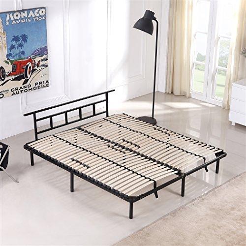 Metallbett 140x200 cm, Futonbett - für alle Matratzen geeignet