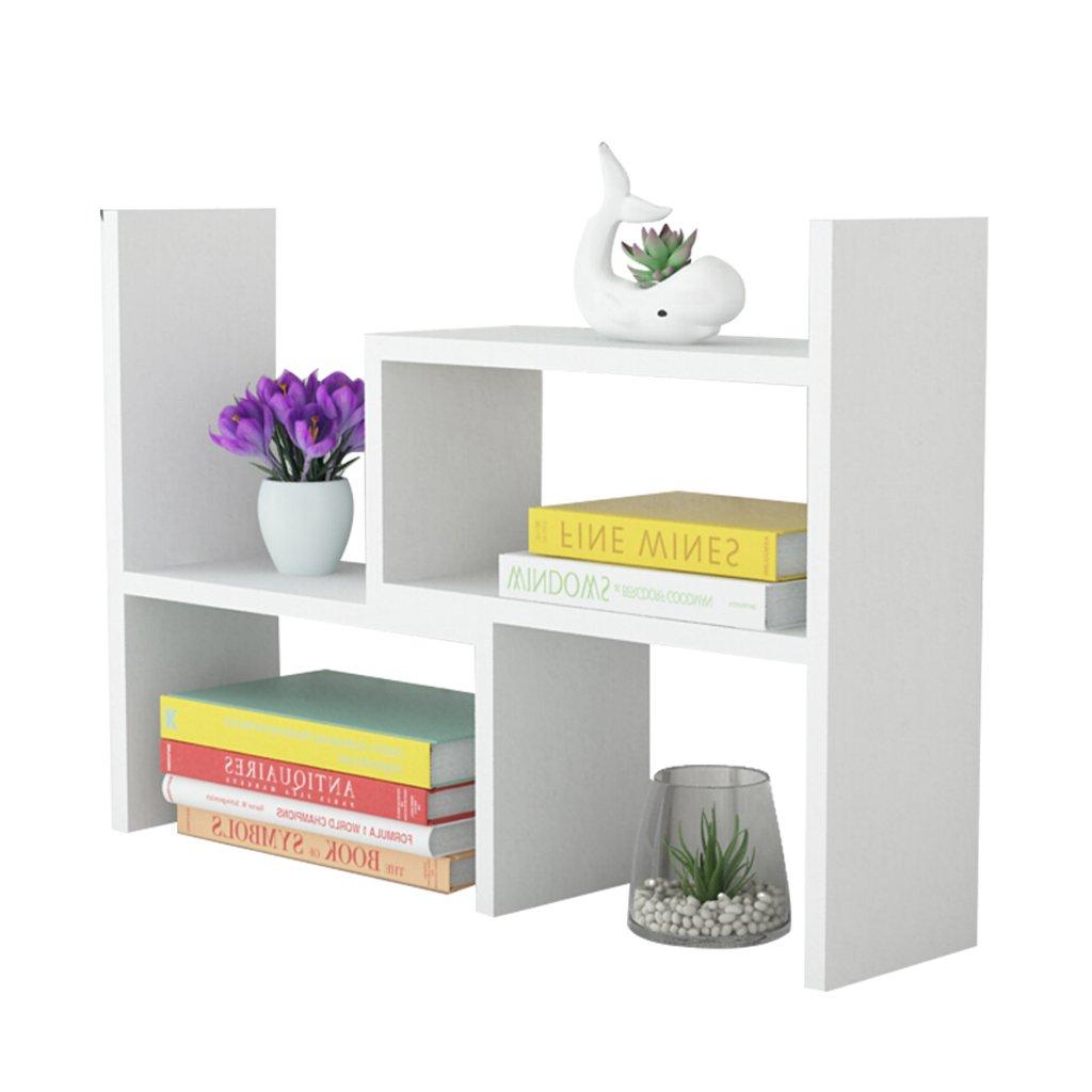 Einziehbare Desktop Holz Kleines Bücherregal Removable Home Wohnzimmer Schlafzimmer Nachtlager Regal Bücherregal (Color : A, Größe : 15cm)