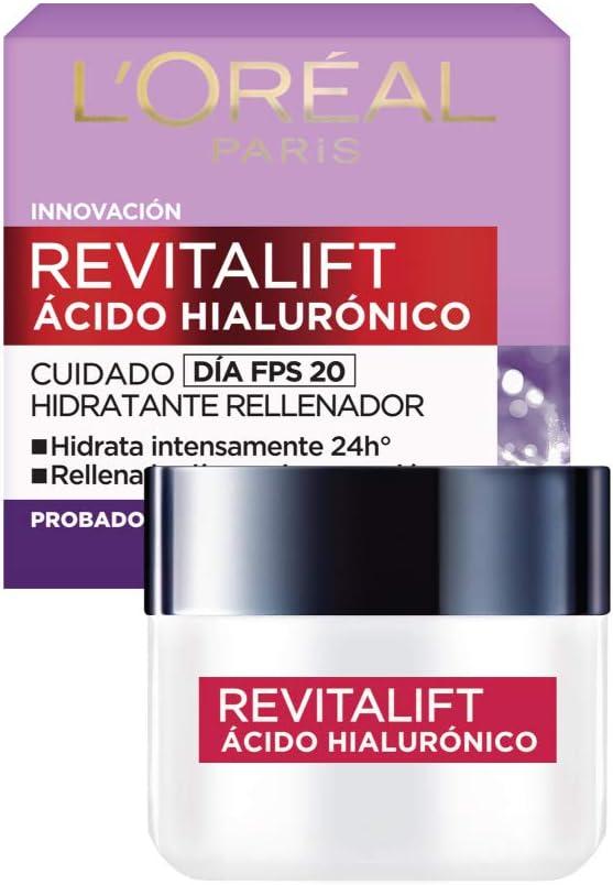 Crema hidratante anti-líneas de expresion Revitalift Ácido Hialurónico Día de L