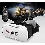 morjava look2® Google en carton Version 3D virtuel lunettes de VR DIY Lunettes 3D Jeu Movie VR Vidéo avec serre-tête pour iPhone 66plus Samsung/note 4/Tous les téléphones 4.7~ 15,2cm Smart