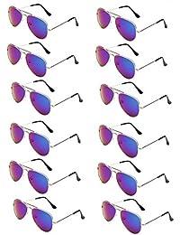 Classic Kids Aviator Sunglasses Bulk Metal Frame Children...