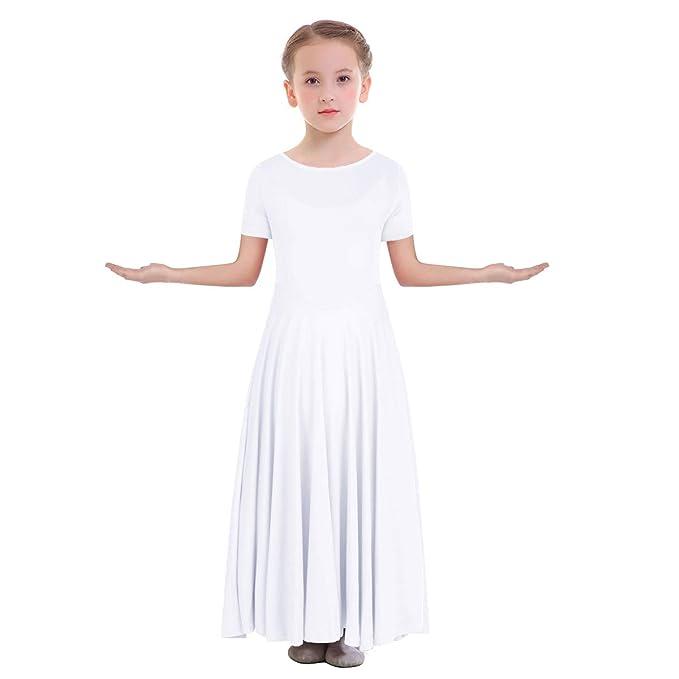OBEEII Niñas Vestido Liturgico Danza Maillot Leotardo ...