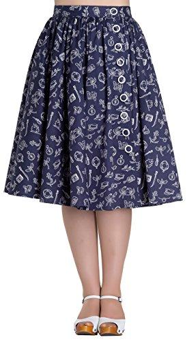 Hell-Bunny-Marin-50s-Skirt