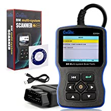 New Creator C310+ Pro V7.0 Version OBD 2 OBDII Multi-System Code Reader Scanner For BMW Mini OBD2 Scan Tool