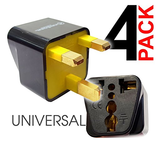 KRI%C3%8BGER Grounded Universal British Adapter product image