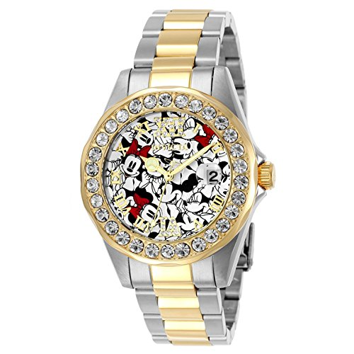 Invicta Disney Limited Edition Mickey Logo Dial Ladies Watch 24418