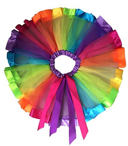 EachWell Little Layered Rainbow Ribbon