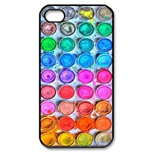 Colour palette Custom Hard Back Cover Case for iPhone 4,4S by Nickcase