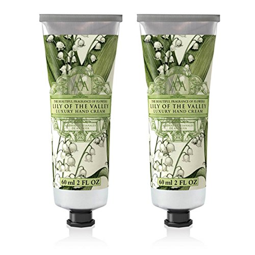 Somerset Toiletry Co. AAA Floral Hand Cream 2-Piece Set – Lily of the Valley