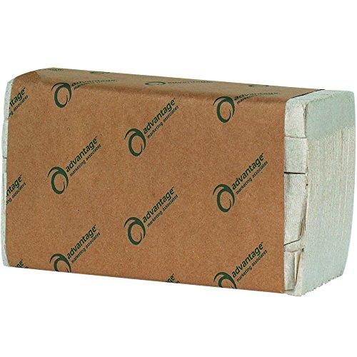 advantage-ttksf-kraft-single-fold-towels-pack-of-16