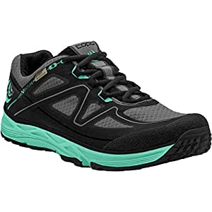 Topo Athletic Hydroventure Trail Running Shoe - Women's Black/Turquoise 6