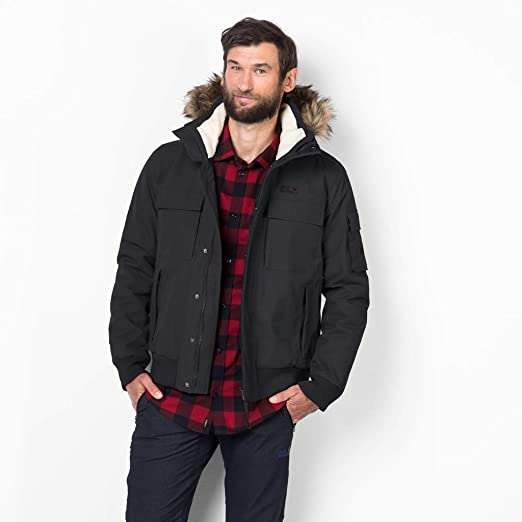 5650e87935 Amazon.com: Jack Wolfskin Men's Brockton Pt Jacket: Clothing