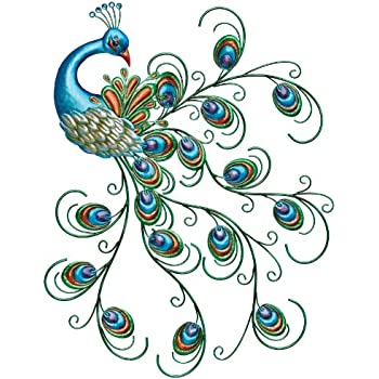 Great Regal Art U0026 Gift Pretty Peacock Wall Decor