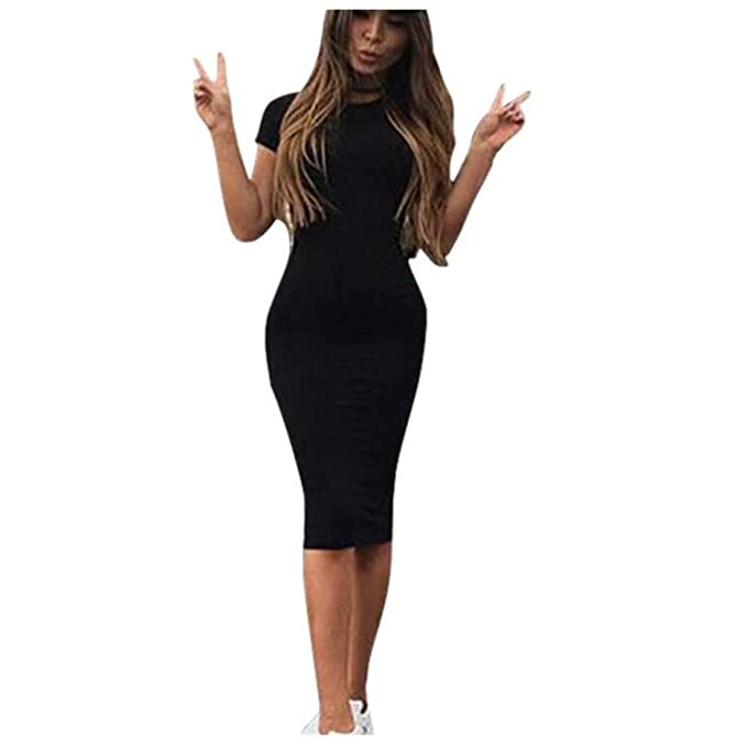 new boy elegant and graceful Knee-Length Dresses for Women - vermers Womens Fashion Sexy ...