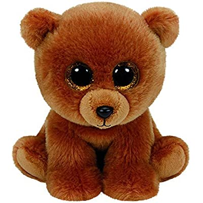 "TY Beanie Boo 6"" Plush Brownie the Bear by Ty by Ty: Toys & Games"