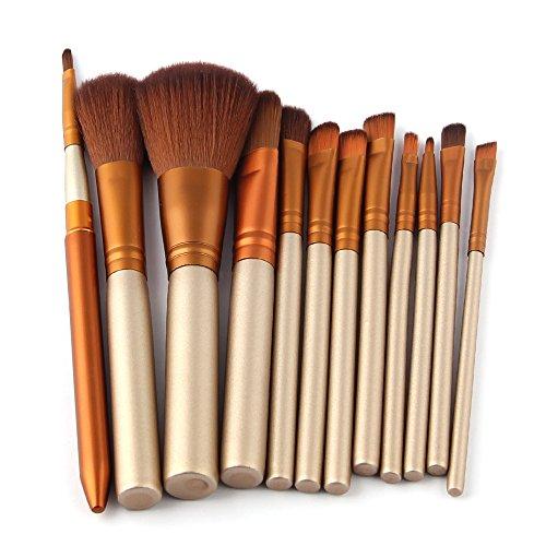 Brush Set Blending Brush - 12 Pcs/lot Make Up Brushes Set Foundation Face&Eye Powder Blusher Cosmetics Makeup Brush Pincel Maquiagem - Foundation Brush Set