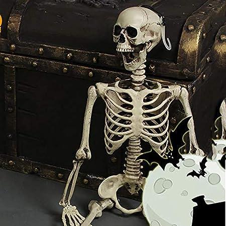 90CM//3FT Human Skeleton Bones Props Skulls Model Halloween Poseable Party Decor