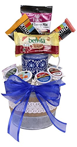 K-Cup Coffee and Gourmet Snack Basket