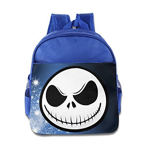 Jack Skellington Top Hat (Jack Skellington Nightmare Before Christmas Kids School RoyalBlue Backpack Bag)