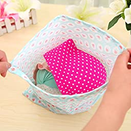 Dust-proof Non-woven Travel Drawstring Dress Shoes Bags Pouches Case Foldable Fashion Portable Breathable Shoes Tote Bags Set of Ten