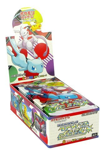 Japanese Pokemon Cards (Pokemon Card Game Sun & Moon Strength Expansion Pack Shining Legends BOX Japanese Ver.)