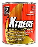 KBS Coatings 65425 Charcoal Metallic Xtreme Temperature Coating - 1 Quart