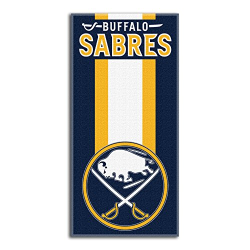 The Northwest Company Officially Licensed NHL Buffalo Sabres Zone Read Beach Towel, 30